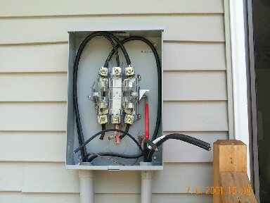 electric4 replacement of the electrical panel